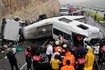 Nejméně osm lidí zemřelo dnes při nehodě minibusu, který na Floridě z neznámých příčin sjel ze silnice. Dalších deset lidí utrpělo podle policie různě vážná zranění.