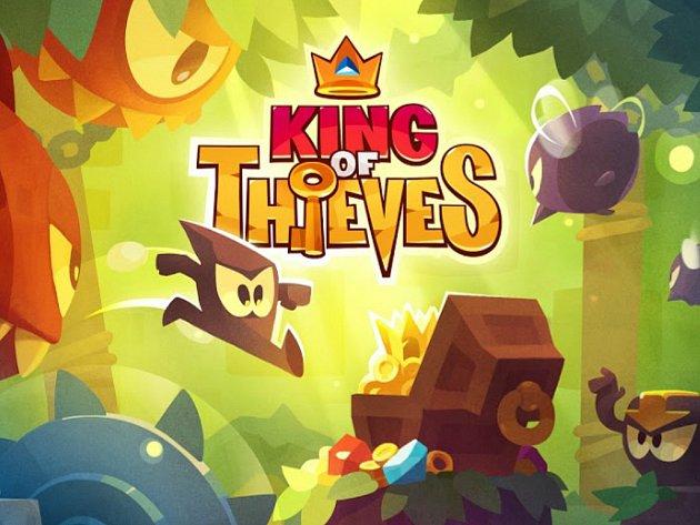 Mobilní hra King of Thieves.