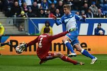 """Hoffenheim - Hamburk: Jaroslav Drobný a """"červený"""" zákrok"""