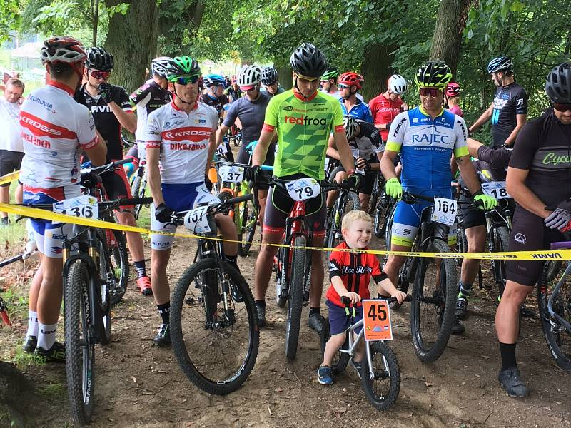 Radek Červenka je vášnivý cyklista