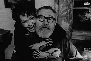 Jiřina Bohdalová a Jan Werich