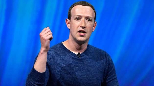 Zakladatel Facebooku Mark Zuckerberg