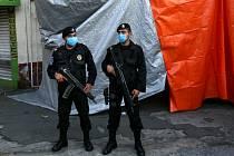 Mexická policie - ilustrační foto