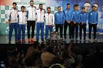 Finále Davis Cupu: Chorvatsko vs. Argentina.