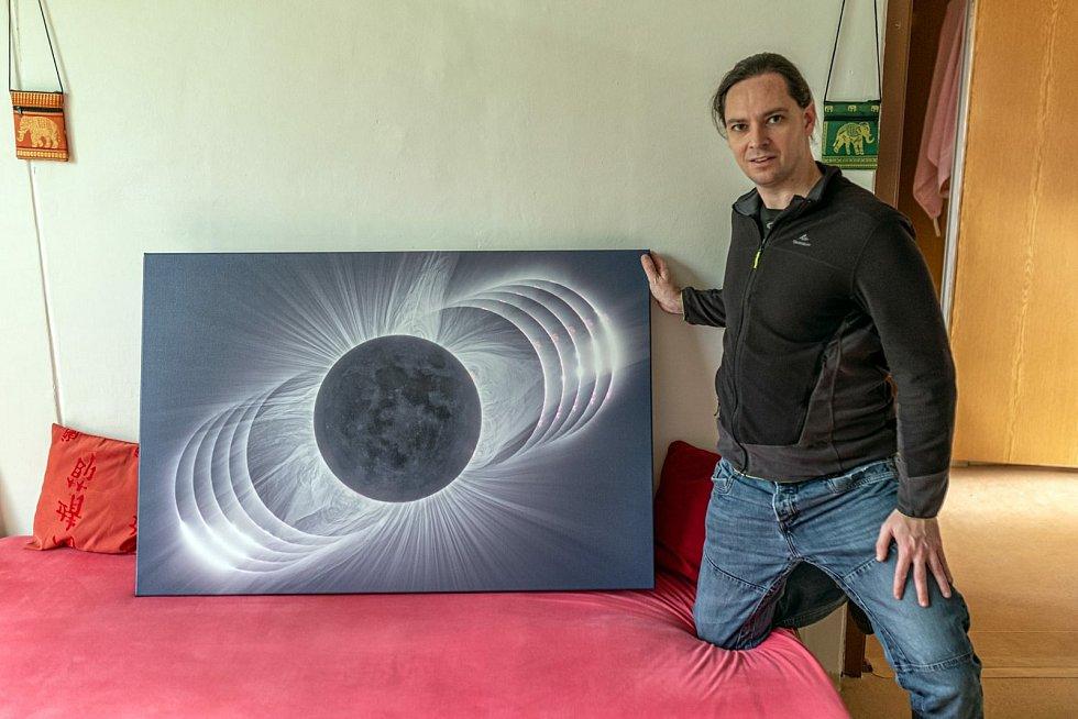 Astronom Petr Horálek z Fyzikálního ústavu Slezské univerzity v Opavě.