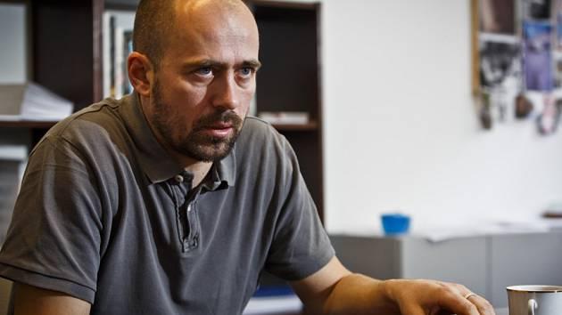 Ředitel vládní Agentury pro sociální začleňování Martin Šimáček