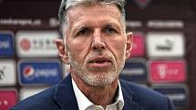 Trenér České fotbalové reprezentace Jaroslav Šilhavý