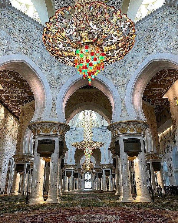 Velká mešita šejka Zayeda v Abú Zabí