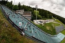 Závod Red Bull 400. Naposledy se na českém území běželo před dvěma lety
