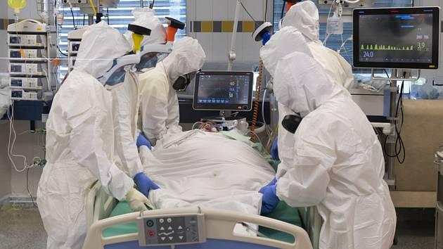Oddělení ARO v nemocnici v Hořovicích