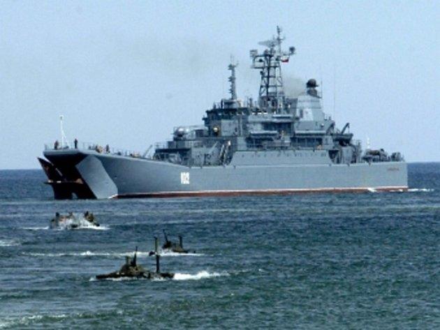 Loď Severoatlantické aliance. Ilustrační foto.