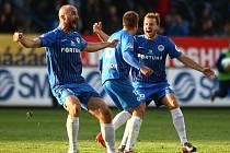 Radost! Liberec právě získal fotbalový titul.