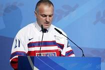 Robert Reichel po uvedení do Síně slávy IIHF