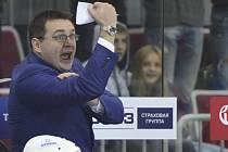 Trenér Astany Andrej Nazarov.