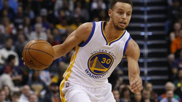 Stephen Curry z Golden State.