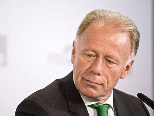 Lídr německé strany zelených Jürgen Trittin.