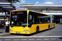 Autobus MHD v německém Essenu