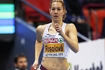 Denisa Rosolová na halovém mistrovství Evropy v Göteborgu.