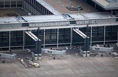 Letiště Berlín Braniborsko stále zeje prázdnotou