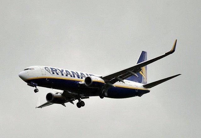Boeing 737 MAX v barvách Ryanairu