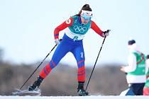 Petra Hynčicová na olympiádě v Pchjongčchangu.