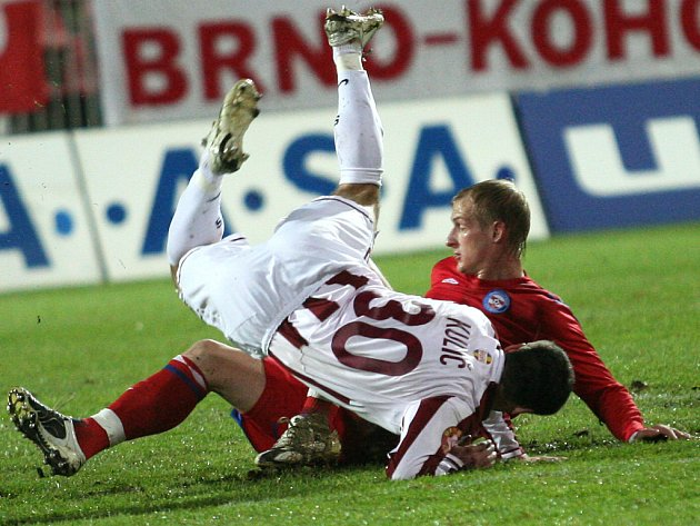 Porážce pražské Sparty na hřišti Brna nezabránil ani reprezentační útočník Marek Kulič.