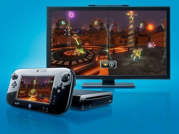 Herní konzole Wii U.