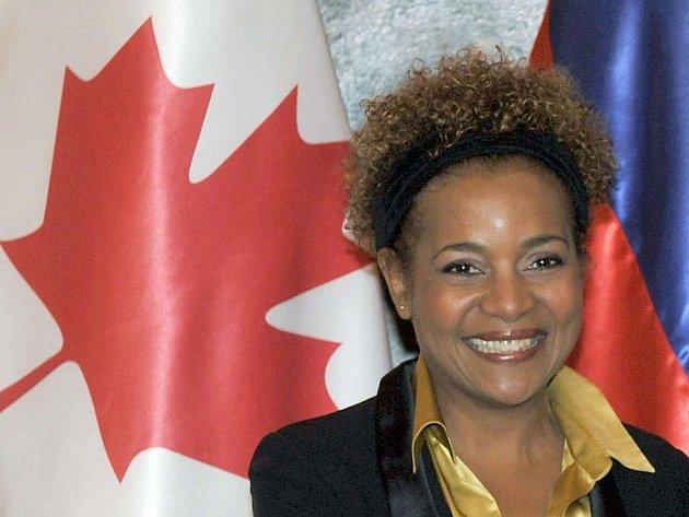 Kanadská guvernérka Michelle Jeanová.
