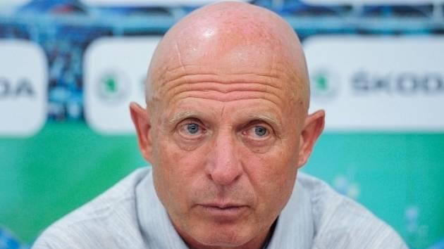 Trenér mladoboleslavských fotbalistů Karel Jarolím.