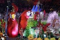 Karneval v Rio de Janeiro ukončil olympijské hry