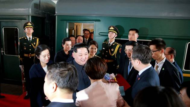 Vůdce Kim-Čong-il přijel do Číny.