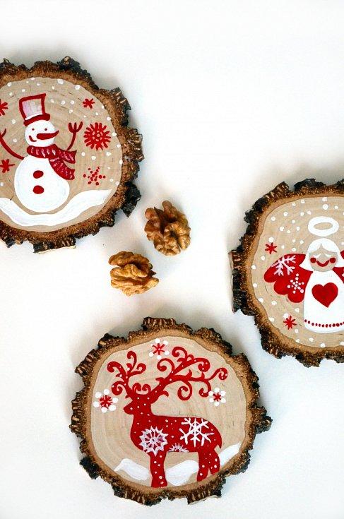 Vyrobte s dětmi vánoční ozdoby