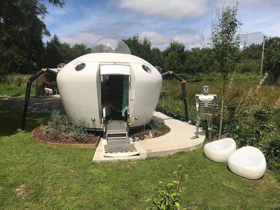 Ubytování ve stylu UFO