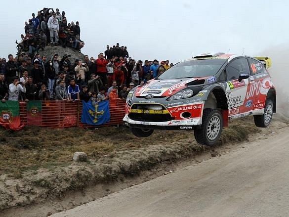 Martin Prokop na portugalské rallye.