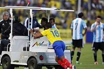 Argentinec Mascherano se opět předvedl v negativním světle.