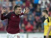14. kolo fotbalové ligy: Sparta - Karviná 3:0