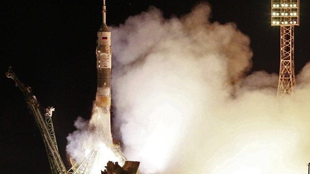 Ruská raketa Sojuz. Ilustrační foto.