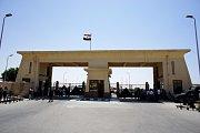 Hraniční přechod Ravah v Pásmu Gazy, ilustrační foto