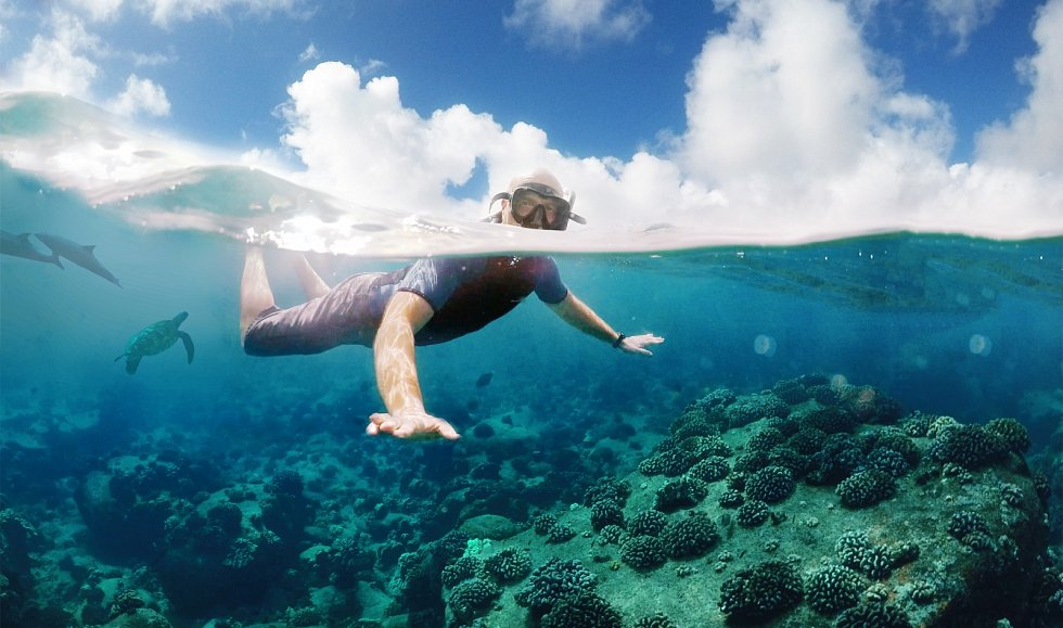 Korálové útesy na Havaji jsou vyhledávanou atrakcí pro potápěče. Nyní jsou kvůli dešťům v ohrožení.
