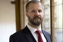 Končící rektor Univerzity Karlovy Václav Hampl.