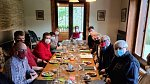 Setkání Miloše Zemana s jeho expertním týmem na zámku v Lánech