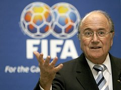 Prezident Mezinárodní fotbalové federace FIFA Sepp Blatter.