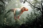 Tak nějak mohl vypadat nový druh tyranosaura, jehož zkamenělá čelist se našla v jižní Albertě
