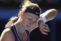 Unavená Petra Kvitová.