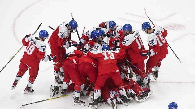 Mistrovství světa hokejistů do 20 let v Edmontonu, skupina B, utkání ČR - Rusko.