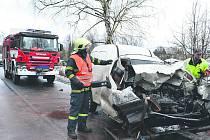 Nehoda u Citic na Sokolovsku.
