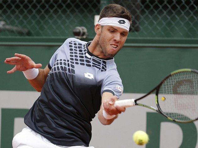 Jiří Veselý na Roland Garros.