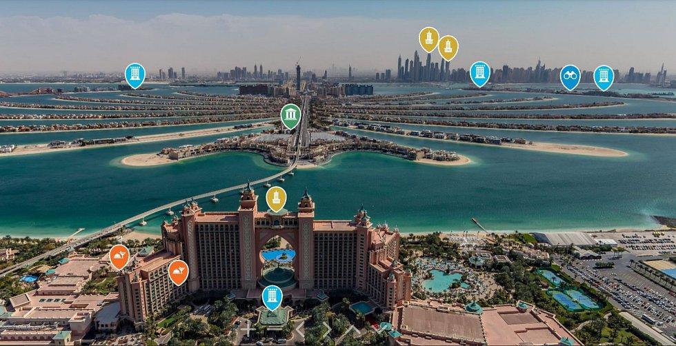 Dubaj zprovoznila online platformu, v níž lze shlédnout toto město virtuálně