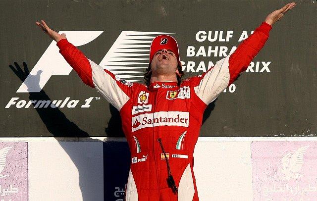 Fernando Alonso jako pilot Ferrari