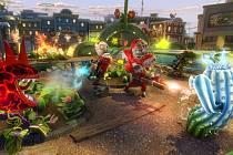 Počítačová hra Plants vs. Zombies: Garden Warfare.